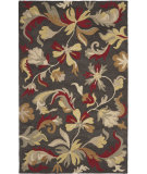 RugStudio presents Safavieh Jardin Jar459a Dark Grey / Multi Hand-Tufted, Better Quality Area Rug