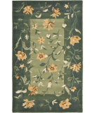 RugStudio presents Safavieh Jardin Jar653a Green / Multi Hand-Tufted, Better Quality Area Rug