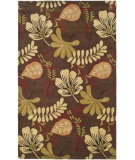RugStudio presents Safavieh Jardin Jar654a Brown / Multi Hand-Tufted, Better Quality Area Rug