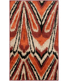 RugStudio presents Safavieh Kashmir Kas114a Orange / Multi Machine Woven, Better Quality Area Rug
