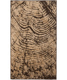 RugStudio presents Safavieh Kashmir Kas116a Brown / Beige Machine Woven, Better Quality Area Rug