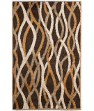 RugStudio presents Safavieh Kashmir Kas117a Brown / Multi Machine Woven, Better Quality Area Rug
