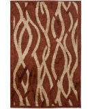 RugStudio presents Safavieh Kashmir Kas117b Rust / Ivory Machine Woven, Better Quality Area Rug