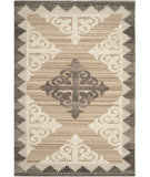 RugStudio presents Safavieh Kenya Kny312a Brown / Charcoal Hand-Tufted, Best Quality Area Rug