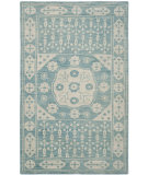 RugStudio presents Safavieh Kenya Kny683a Blue Hand-Knotted, Better Quality Area Rug