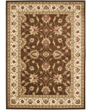 RugStudio presents Safavieh Lyndhurst Lnh553 Brown / Ivory Machine Woven, Good Quality Area Rug