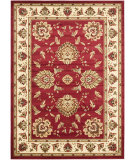 RugStudio presents Safavieh Lyndhurst Lnh553 Red / Ivory Machine Woven, Good Quality Area Rug