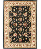 RugStudio presents Safavieh Lyndhurst Lnh553 Black / Ivory Machine Woven, Good Quality Area Rug