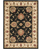 RugStudio presents Safavieh Lyndhurst Lnh555 Black / Ivory Machine Woven, Good Quality Area Rug