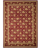 RugStudio presents Safavieh Lyndhurst Lnh556 Red / Red Machine Woven, Good Quality Area Rug