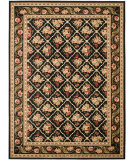 RugStudio presents Safavieh Lyndhurst Lnh556 Black / Black Machine Woven, Good Quality Area Rug