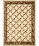 RugStudio presents Safavieh Lyndhurst Lnh557 Ivory / Brown Machine Woven, Good Quality Area Rug