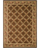 RugStudio presents Safavieh Lyndhurst Lnh557 Brown / Brown Machine Woven, Good Quality Area Rug