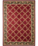 RugStudio presents Safavieh Lyndhurst Lnh557 Red / Black Machine Woven, Good Quality Area Rug