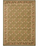 RugStudio presents Safavieh Lyndhurst Lnh557 Green / Green Machine Woven, Good Quality Area Rug