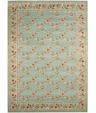 RugStudio presents Safavieh Lyndhurst Lnh557 Blue / Blue Machine Woven, Good Quality Area Rug