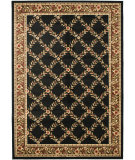 RugStudio presents Safavieh Lyndhurst Lnh557 Black / Brown Machine Woven, Good Quality Area Rug