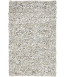 RugStudio presents Safavieh Leather Shag Lsg511c White Area Rug
