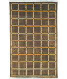 RugStudio presents Safavieh Lexington LX104A Soft Green / Beige Hand-Knotted, Good Quality Area Rug