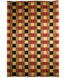 RugStudio presents Safavieh Lexington LX115A Red / Black Hand-Knotted, Good Quality Area Rug