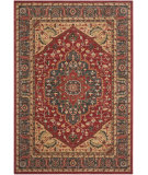 RugStudio presents Safavieh Mahal Mah621c Navy - Red Machine Woven, Better Quality Area Rug
