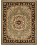 RugStudio presents Safavieh Majesty Maj4763 Sage / Brown Machine Woven, Better Quality Area Rug