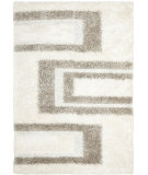 RugStudio presents Safavieh Manhattan MAN522A White / Grey Area Rug