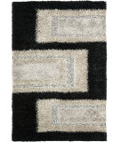 RugStudio presents Safavieh Manhattan MAN522B Black / Grey Area Rug