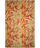 RugStudio presents Safavieh Mandarin MD403A Sage / Rust Hand-Tufted, Best Quality Area Rug