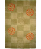RugStudio presents Safavieh Mandarin MD404A Sage Hand-Tufted, Good Quality Area Rug