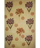 RugStudio presents Safavieh Mandarin MD405A Ivory Hand-Tufted, Best Quality Area Rug