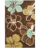 RugStudio presents Safavieh Modern Art Mda611a Brown / Multi Hand-Tufted, Better Quality Area Rug