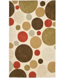 RugStudio presents Safavieh Modern Art Mda615a Ivory / Multi Hand-Tufted, Better Quality Area Rug