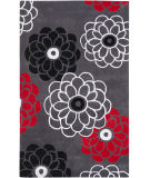 RugStudio presents Safavieh Modern Art Mda620a Dark Grey / Multi Hand-Tufted, Better Quality Area Rug