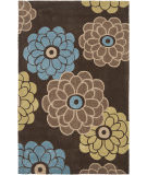 RugStudio presents Safavieh Modern Art Mda620b Brown / Multi Hand-Tufted, Better Quality Area Rug