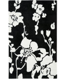 RugStudio presents Safavieh Modern Art Mda621b Black / Ivory Hand-Tufted, Better Quality Area Rug