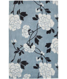 RugStudio presents Safavieh Modern Art Mda622a Blue / Ivory Hand-Tufted, Better Quality Area Rug