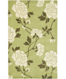RugStudio presents Safavieh Modern Art Mda622b Green / Ivory Hand-Tufted, Better Quality Area Rug