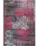 RugStudio presents Safavieh Monaco Mnc210d Pink - Multi Machine Woven, Better Quality Area Rug