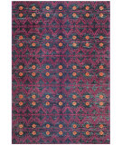 RugStudio presents Safavieh Monaco Mnc213d Pink - Multi Machine Woven, Better Quality Area Rug