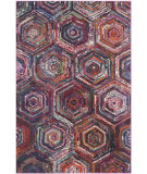 RugStudio presents Safavieh Monaco Mnc224d Pink - Multi Machine Woven, Better Quality Area Rug