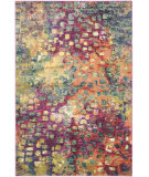 RugStudio presents Safavieh Monaco Mnc225d Pink - Multi Machine Woven, Better Quality Area Rug