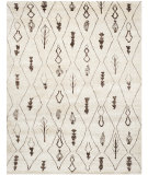 RugStudio presents Safavieh Moroccan Mor331a Beige / Brown Hand-Knotted, Good Quality Area Rug
