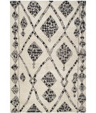 RugStudio presents Safavieh Moroccan Mor553a Ivory / Black Hand-Knotted, Good Quality Area Rug