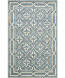 RugStudio presents Safavieh Mosaic MOS163A Blue / Beige Area Rug