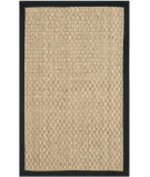 RugStudio presents Safavieh Martha Stewart Msj2511b Ebony Sisal/Seagrass/Jute Area Rug