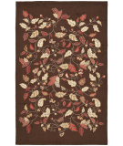 RugStudio presents Martha Stewart By Safavieh Msr3611 Autumn Woods B Hand-Tufted, Good Quality Area Rug