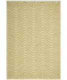 RugStudio presents Rugstudio Sample Sale 66450R Chevron Leaves B Hand-Tufted, Good Quality Area Rug