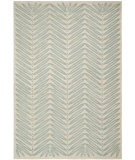 RugStudio presents Martha Stewart By Safavieh Msr3612 Chevron Leaves C Hand-Tufted, Good Quality Area Rug