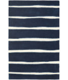 RugStudio presents Martha Stewart By Safavieh Msr3617 Chalk Stripe C Hand-Tufted, Good Quality Area Rug